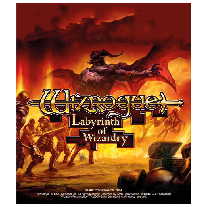 Wizrogue Labyrinth of Wizardry (Download)