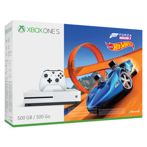 XBOX ONE S 4K 500 GB inkl. Forza Horizon 3 und Hot Wheels