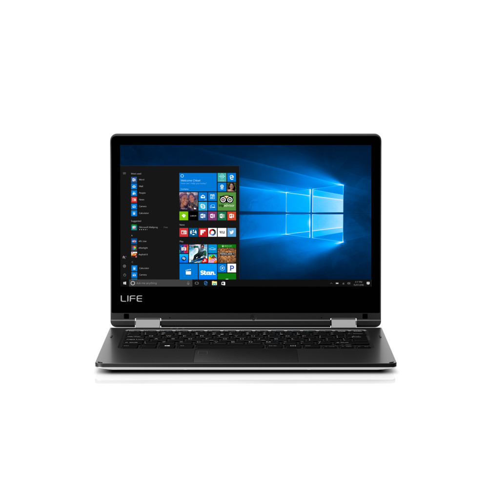 "LIFE E2227T 360°, 11.6"", Atom x5, 2 GB RAM, 64 GB Flash"