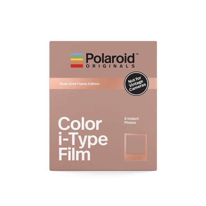 POLAROID Color i-Type Film Rose Gold Frame Edition