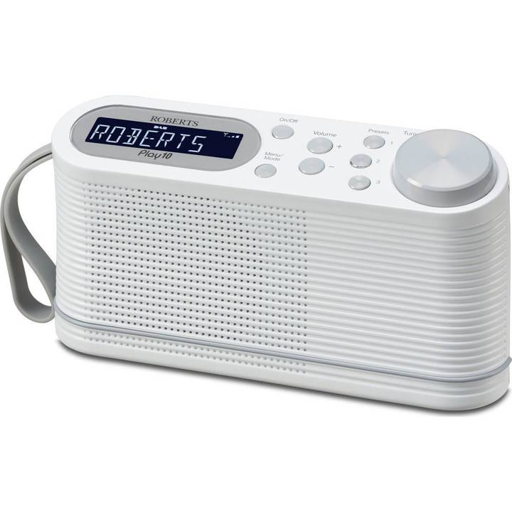 ROBERTS DAB+ Radio Play 10 White