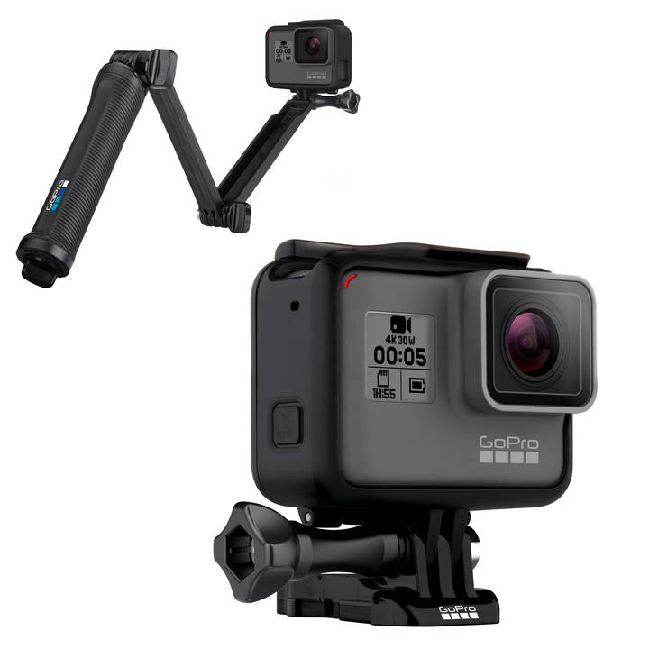 GOPRO Hero 5 Black + 3-Way
