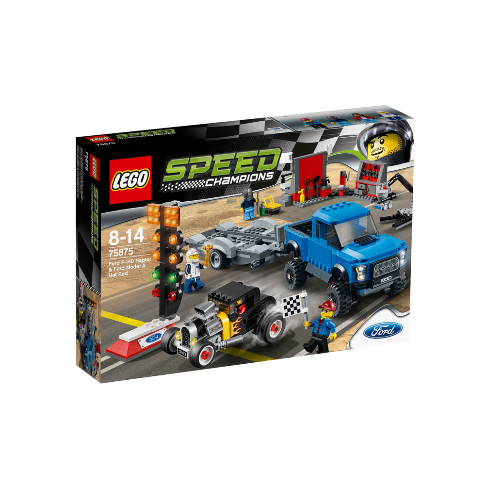 LEGO Speed Champions Ford F-150 Raptor & Ford Model A Hot Rod (75875)