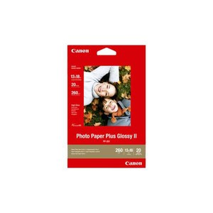 CANON Photo Paper Plus Gloss II 13 x 18 cm