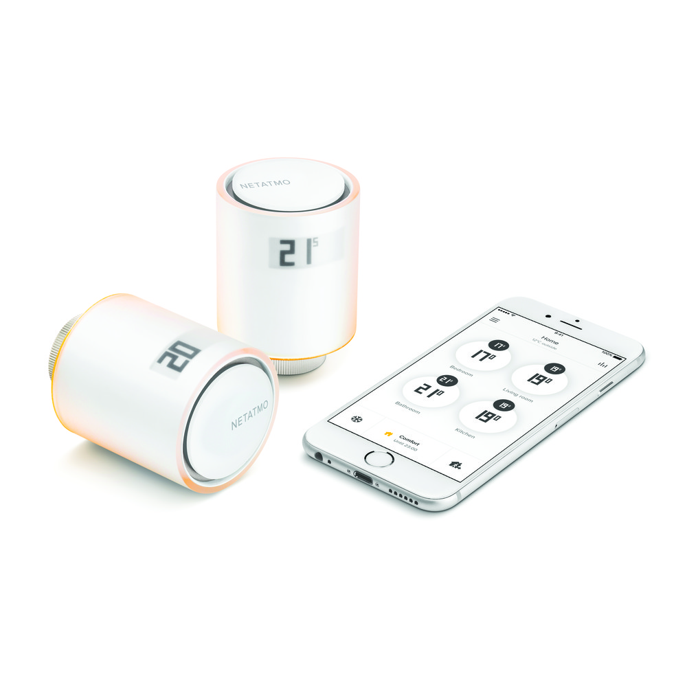 NETATMO Smart Radiator Valves Starter Pack