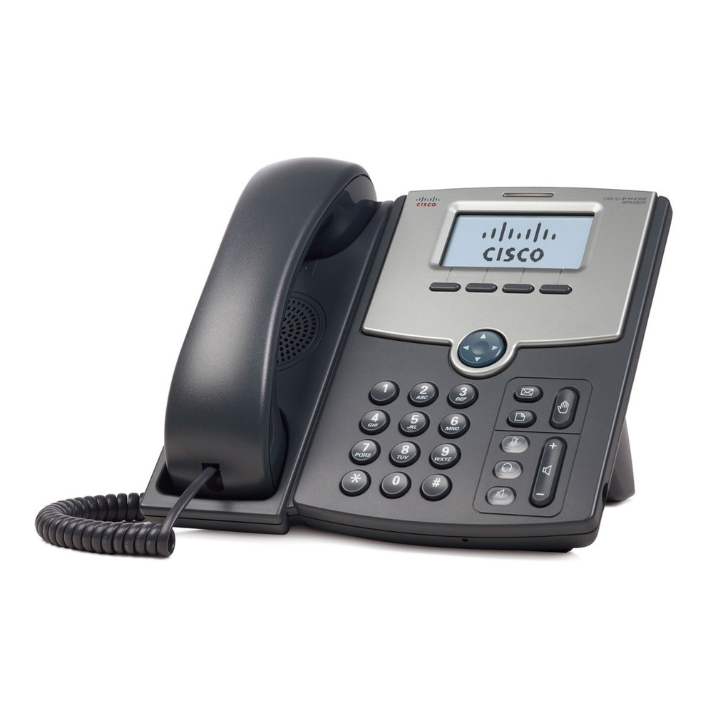 Cisco SPA 502G: SIP-Telefon mit Display