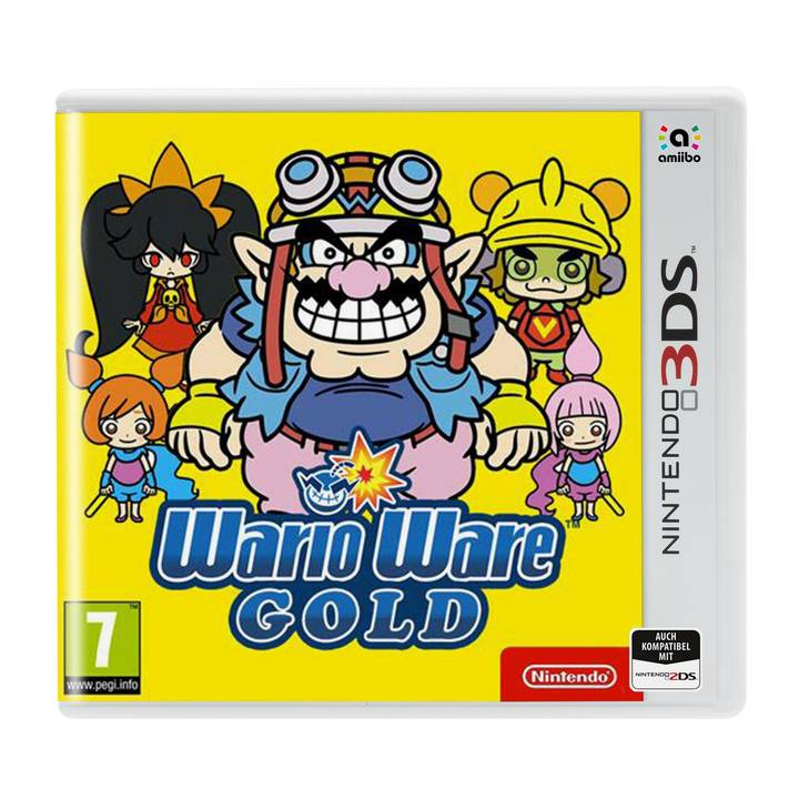 Wario Ware Gold, 3DS/XL D Alter: 7+