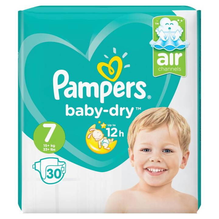 Pampers Baby Dry Gr.7 Extra Large 15+kg