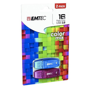 EMTEC C410 Color Mix Duopack