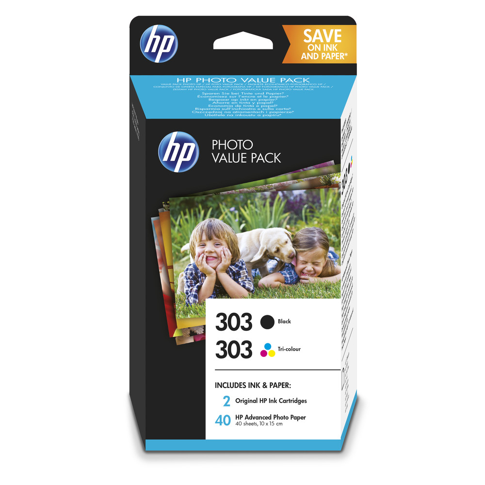 HP Photo Value Pack 303 Black + Tri Colour