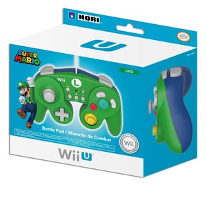 NINTENDO Battle Pad Luigi green