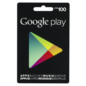 GOOGLE Play Card 100