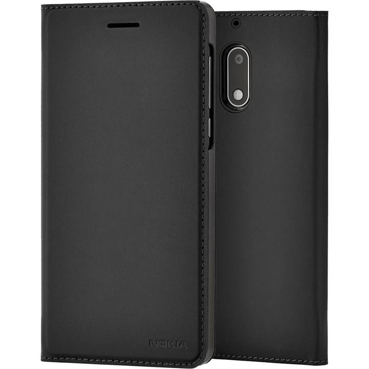 NOKIA Book-Cover, Nokia 6 (2018), Black