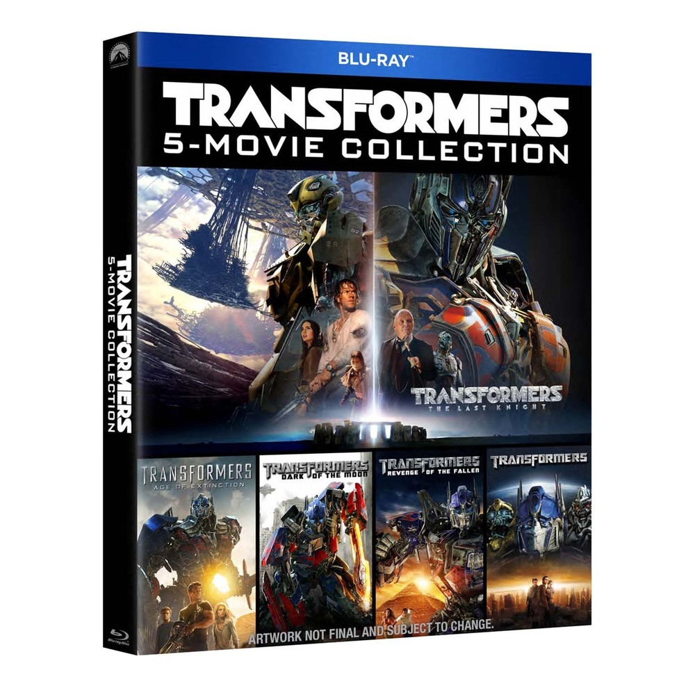 Boxset Transformers 5 Movies