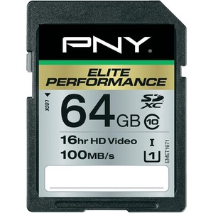 PNY Elite Performance SDXC 64 GB