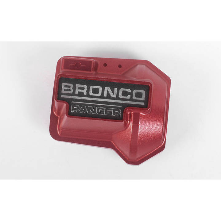 RC4WD Diff Cover TRX-4 Bronco Rot null