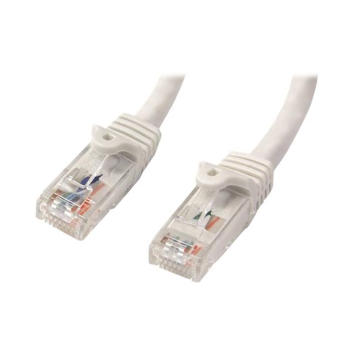 STARTECH.COM 10m White Cat6 / Cat 6 Snagless Patch Cable 10 m