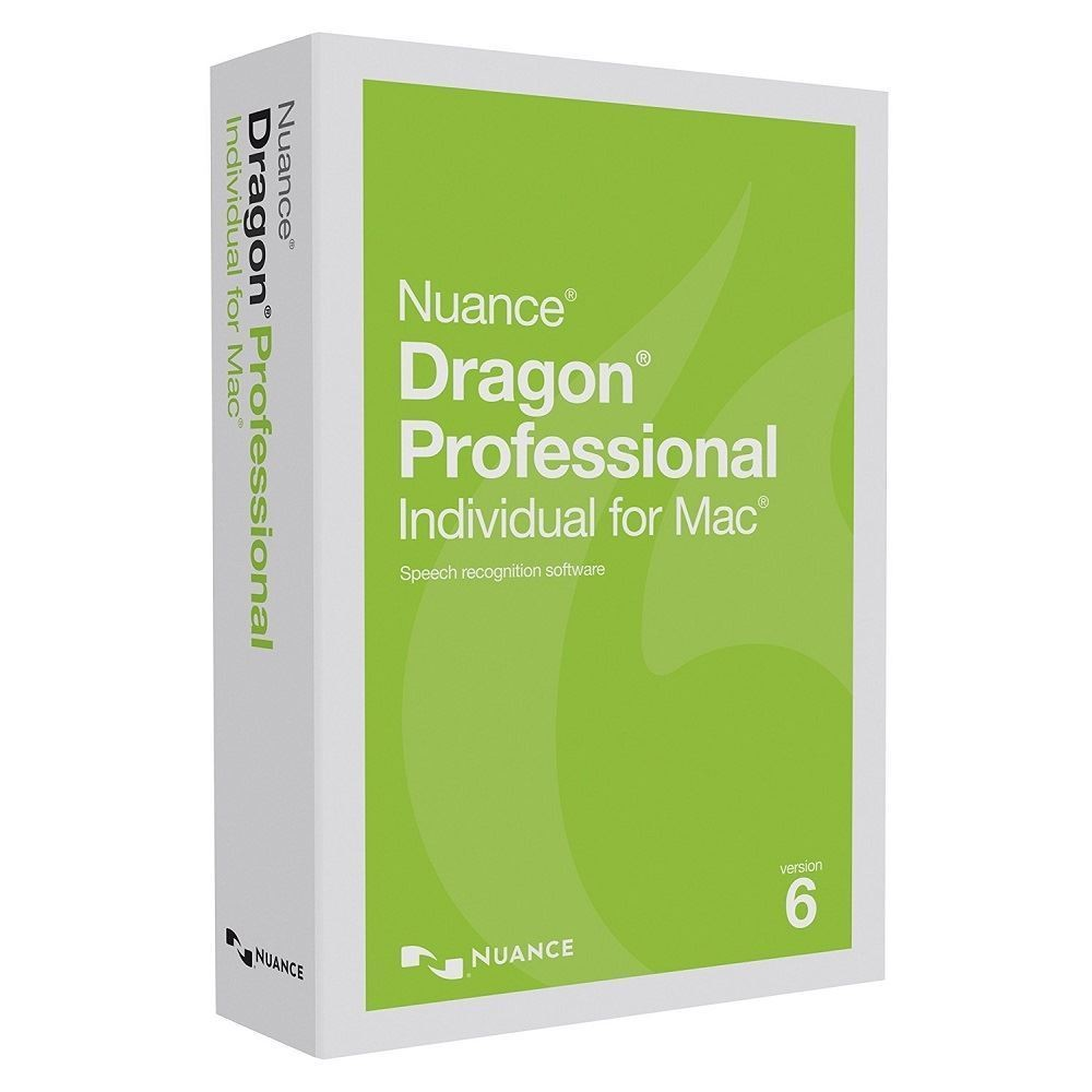 NUANCE Dragon Professional Individual for Mac 6