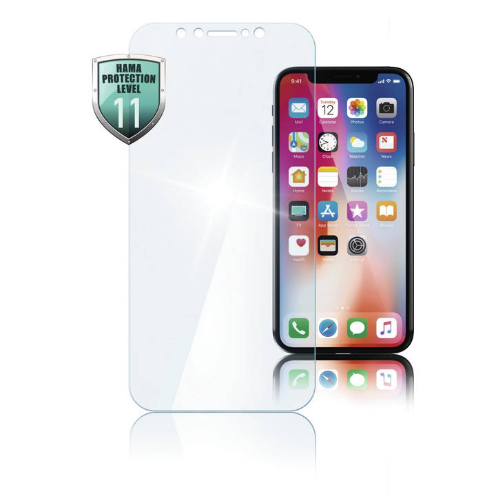 "HAMA Premium-Displayschutzglas ""Diamond"" für Apple iPhone X"