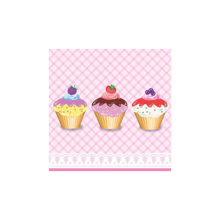 PPD PAPERPRODUCTS Tovaglioli DESIGN Tortini Cupcakes