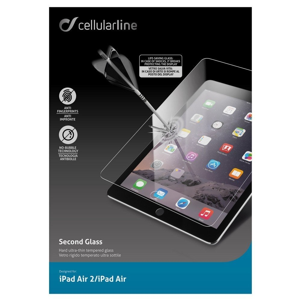 CELLULAR LINE Screen Protector iPad Air 2