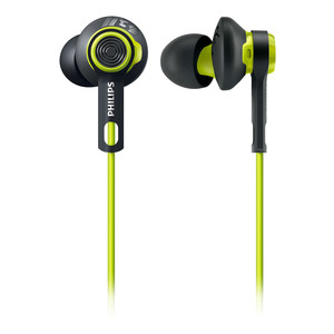 PHILIPS In-Ear Kopfhörer ActionFit Black/Green