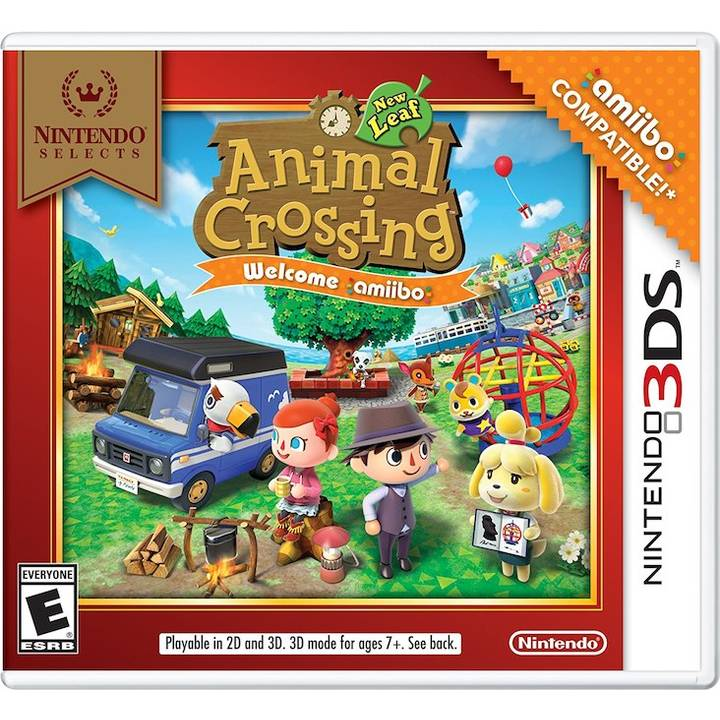 Nint. Selects: Animal Crossing-New Leaf (DE)