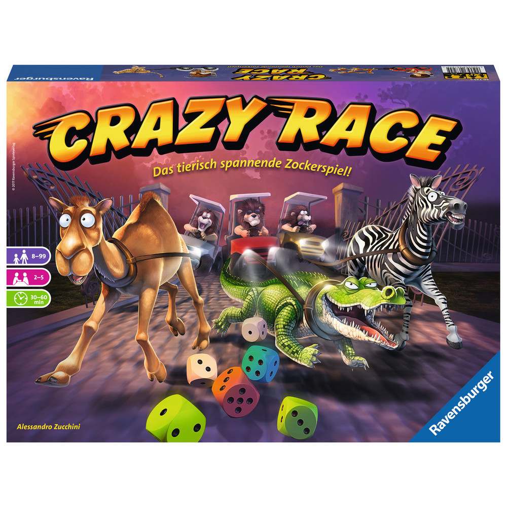 RAVENSBURGER Crazy Race