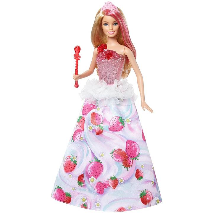 BARBIE - Dreamtopia candy light & music princess