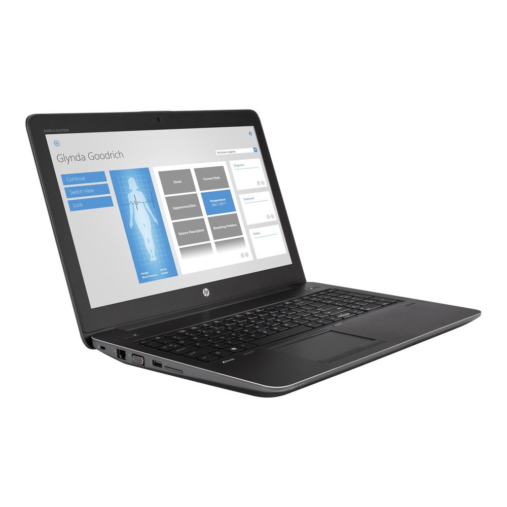 HP ZBook 15 G4 PTC Creo certified, i7-77