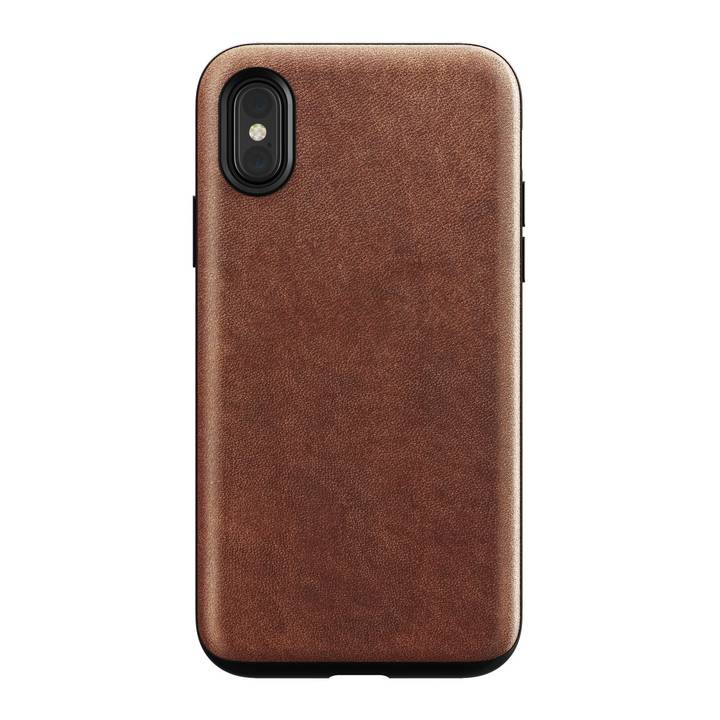 Nomad Rugged Case braun für iPhone X