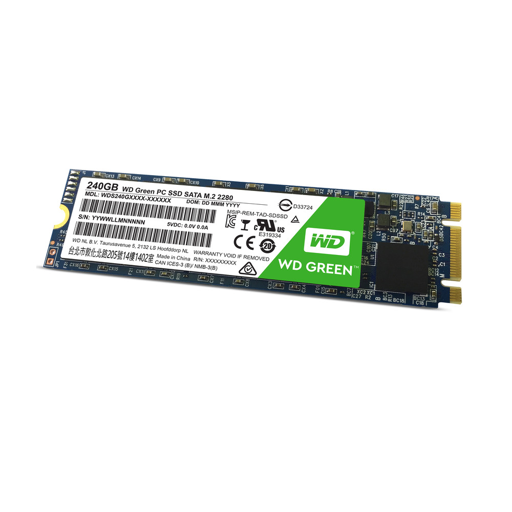 WESTERN DIGITAL Green 240 GB SSD Serial ATA III