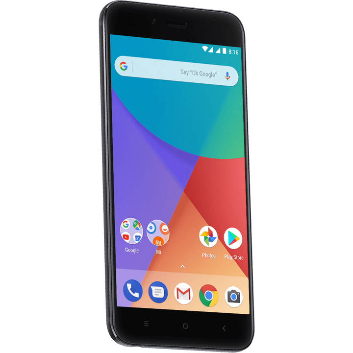 XIAOMI Mi A1, 64 GB, Dual-SIM, Black, Global Version
