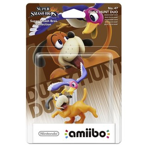 NINTENDO Amiibo Super Smash Bros. Duck Hunt Duo