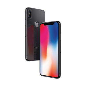 APPLE iPhone X 64 GB Space Grau