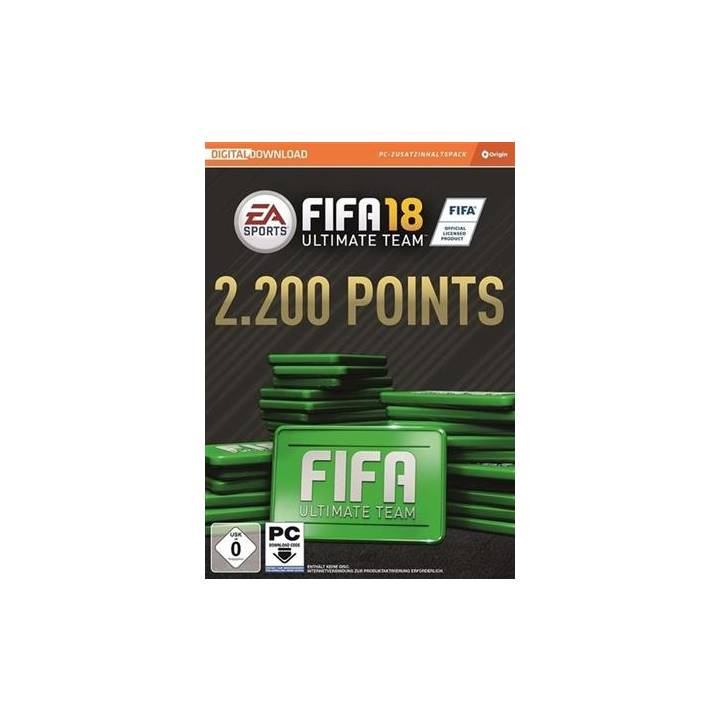 EA FIFA 18 2200 FIFA POINTS (CIAB)