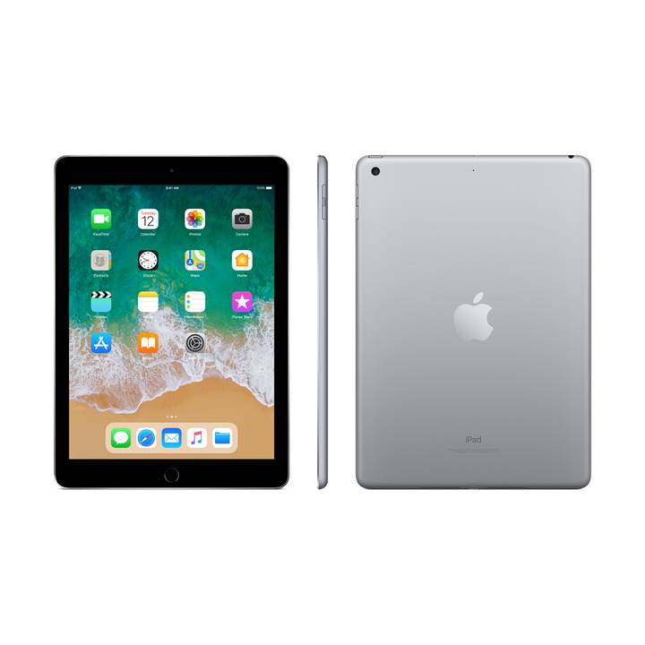 "APPLE iPad WiFi, 9.7"", 32 GB, Gris sidéral (2018)"