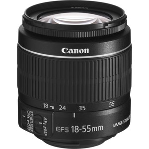 CANON EF-S 18 - 55 mm f/3,5 - 5,6