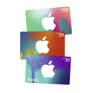 iTUNES CARD 100 NEW