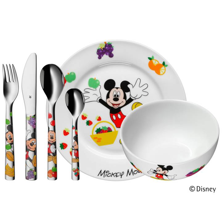 WMF Kinderbesteckset Mickey Mouse, 6-teilig