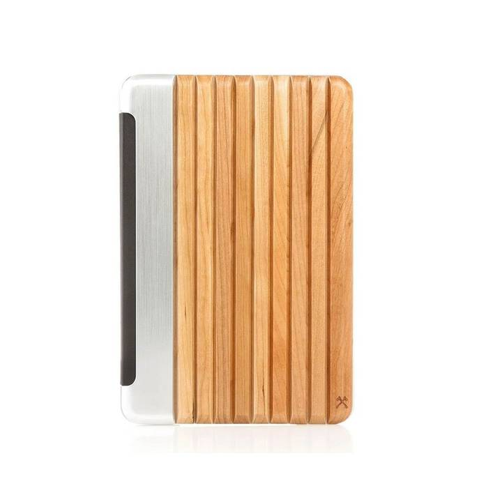 WOODCESSORIES Tablet Book Cover EcoGuard iPad mini 4 Kirsche / Silber