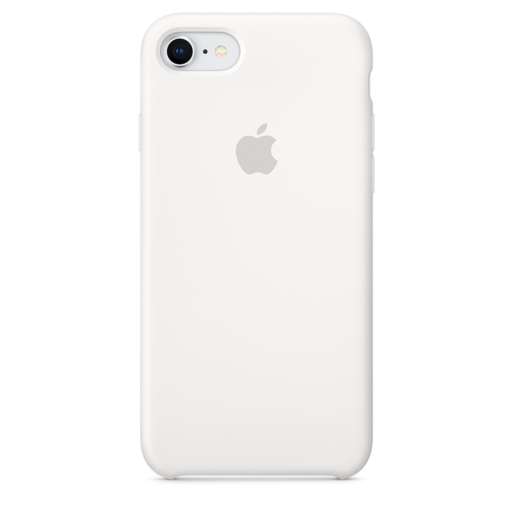 APPLE iPhone 8 & 7 Silicon Case White