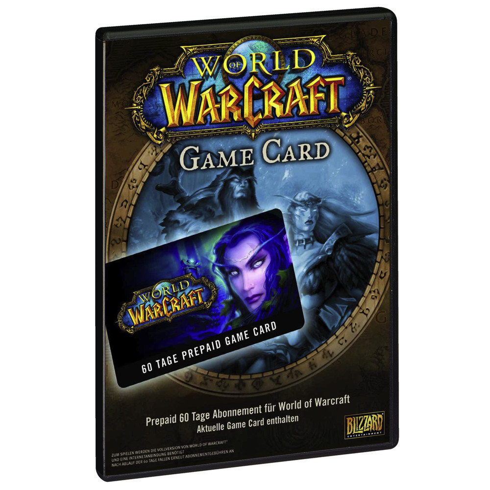 World of Warcraft PrePaid Game Card