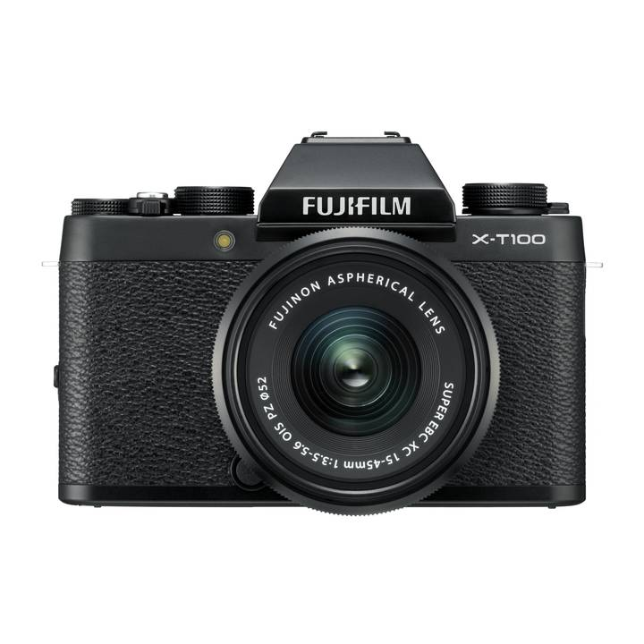 FUJIFILM X-T100 Black Kit XC 15-45mm