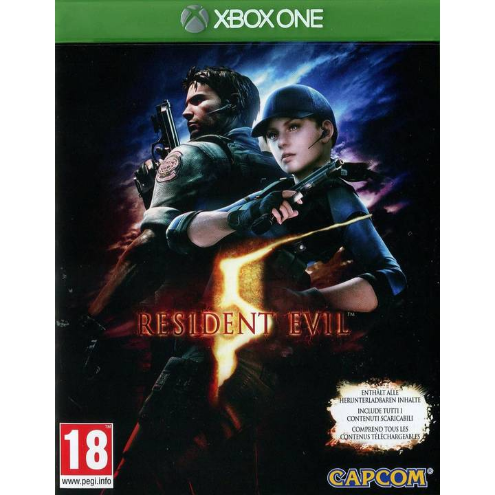 Resident Evil 5 HD, Xbox One Alter: 18+