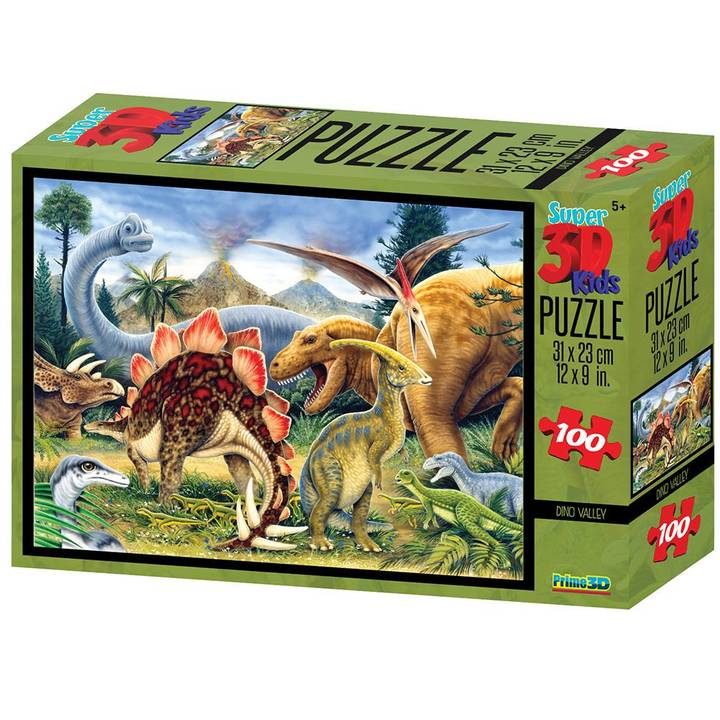 National Geo 3D Puzzle Dinos 100 Teile