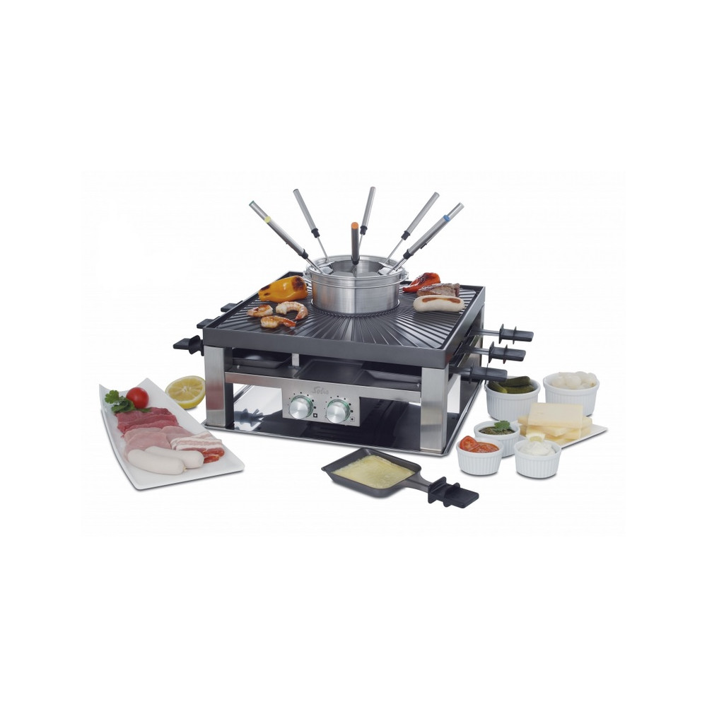 SOLIS Combi-Grill 3-in-1 Typ 796