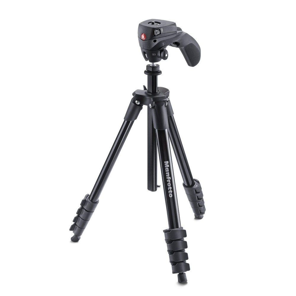 MANFROTTO Compact Action Aluminium-Stativ mit Hybrid-Kopf