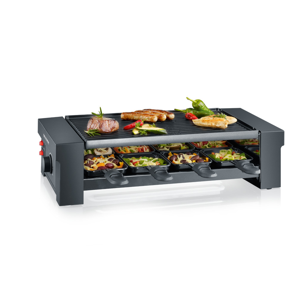 SEVERIN Pizza-Raclette Grill RG 2687