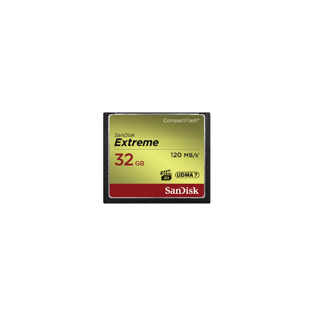 SANDISK Extreme Compact Flash 32 GB